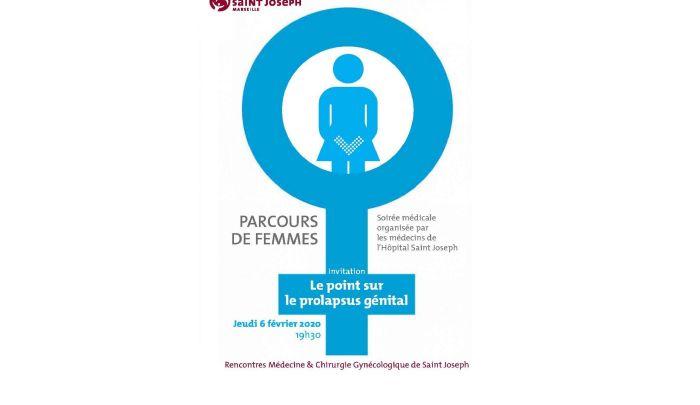 Parcours de Femmes, le point sur le prolapsus génital