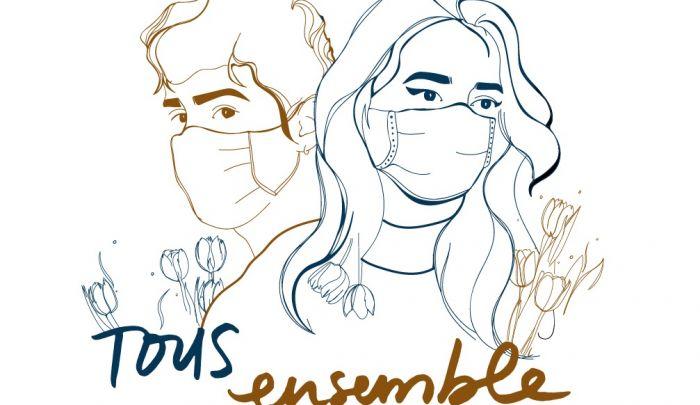 Tous ensemble - Osmoze - Atelier d'Art Mural
