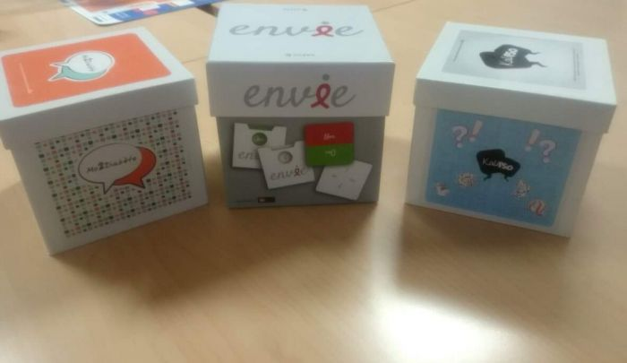 ENVIE, L'EDUCATION THERAPEUTIQUE PAR LE JEU POUR LES PATIENTS VIVANTS AVEC LE VIH
